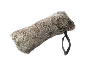 "Mystique® Dummy ""Speedy Rabbit Full Fur"" mit Kaninchenvollfell -  - 16"